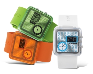 Something about these reminds me of one of the Nooka watches.