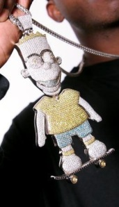 Gucci Mane's Bart Simpson chain