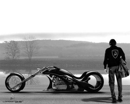 Lamborbiker