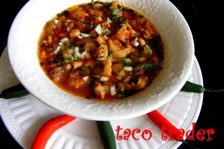 Spicy Hot Menudo