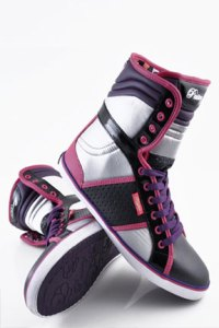 Pastry Sugar Rush Pink Plum Hi Tops