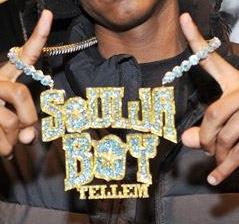 """Soulja Boy's """"Soulja Boy Tellem"""" chain"""
