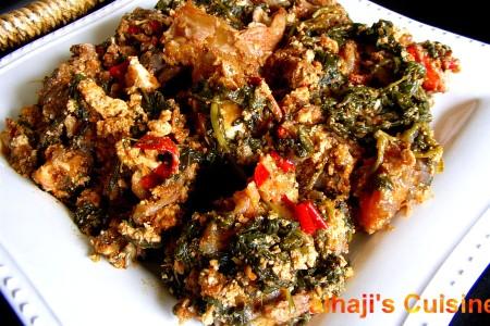 Egusi stew