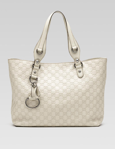 Gucci Guccissima Tote With Double Handle Bag
