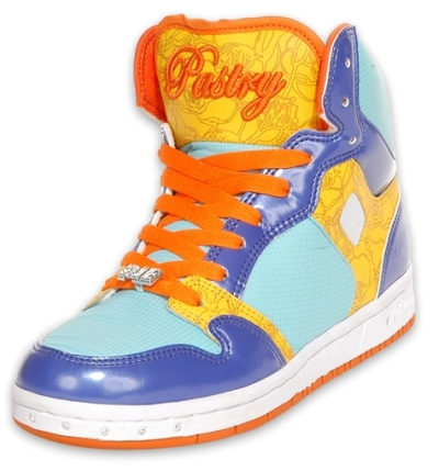 Blue Sky Glam Pie Hi Top